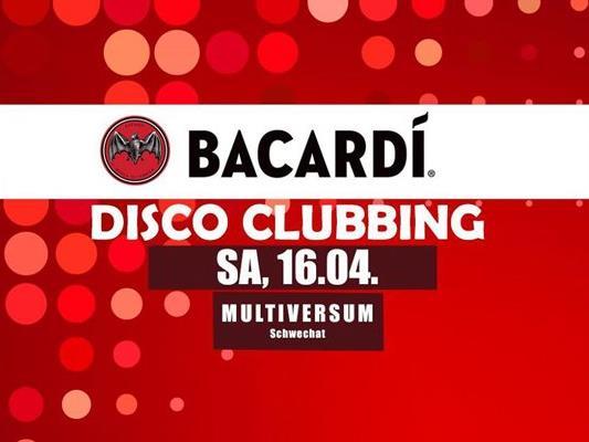 Das Bacardi Disco Clubbing im Multiversum Schwechat
