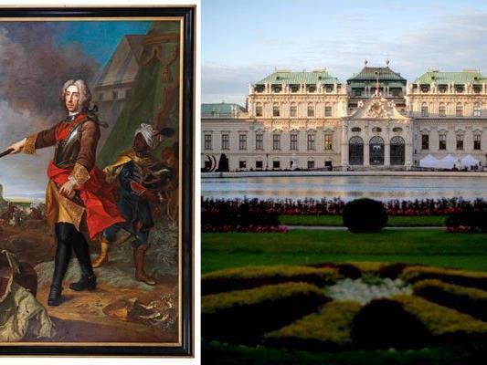 Das Porträt des Prinzen Eugen von Johann Gottfried Auerbach