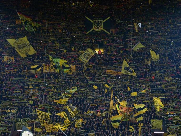 Unglaubliche Stimmung in Dortmund.