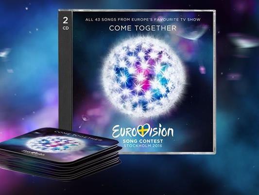 Zu Einstimmung: Die neue Song Contest CD.