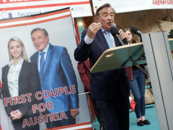 Lugner mobilisierte seine Wählerschaft.