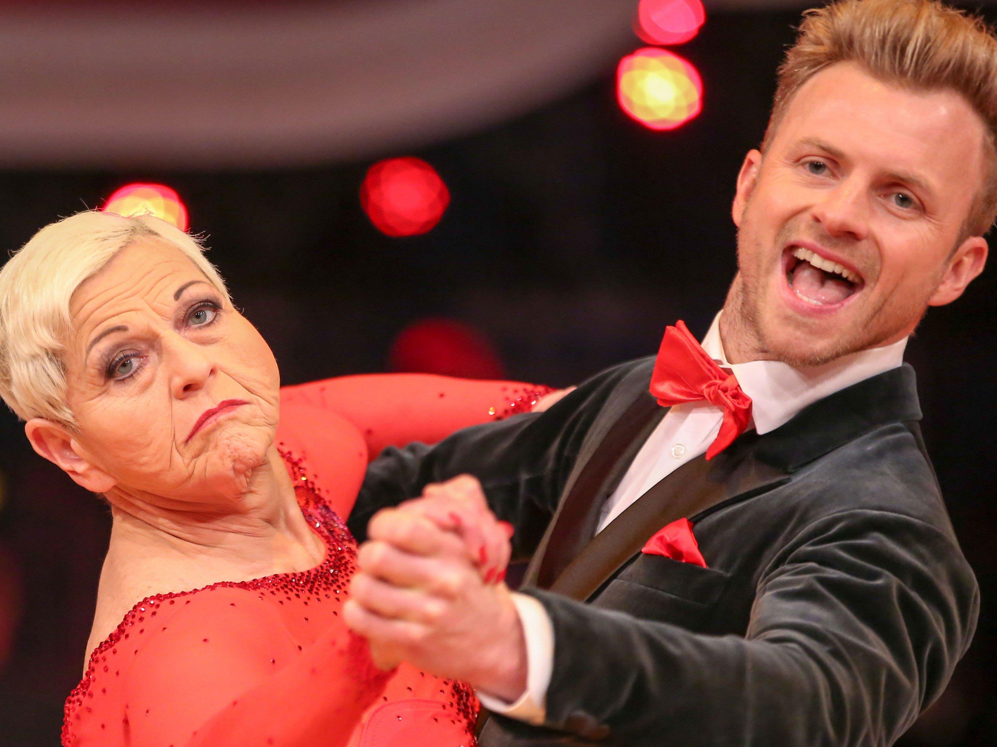 """Jazz Gitti und Willi Gabalier mussten """"Dancing Stars"""" verlassen."""