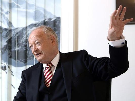Präsidentschaftskandidat Andreas Khol gibt sich zuversichtlich