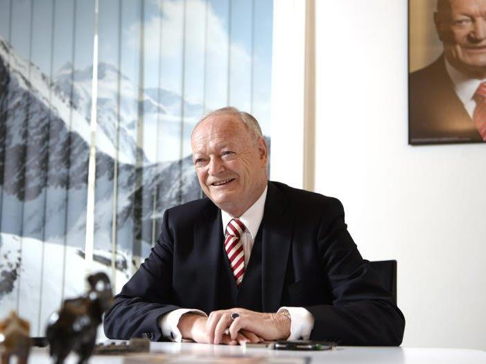 ÖVP-Präsidentschaftskandidat Andreas Khol über die EU.