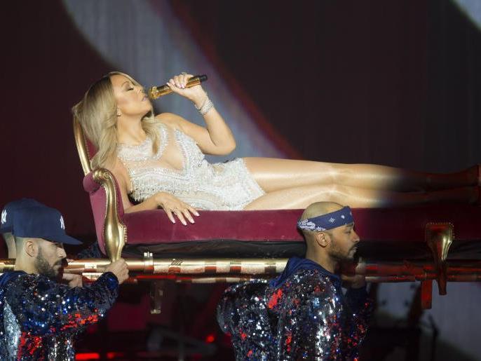 Mariah Carey Live In Wien Große Stimme Lange Wartezeiten Musik