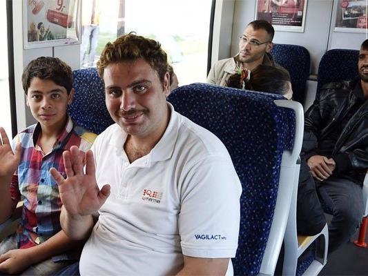 Tausende Flüchtlinge fuhren im letzten Jahr mit den ÖBB.