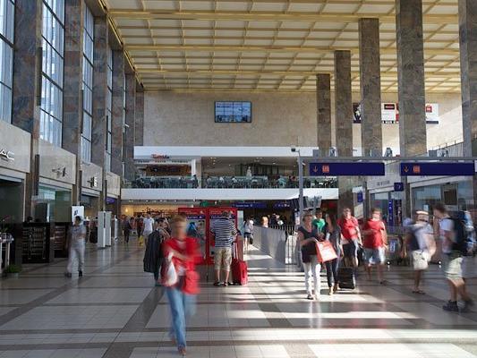 Am Westbahnhof kam es zu einem Zwischenfall