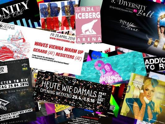 Partymode: ON! Kommendes Wochenende kracht es wieder in Wien