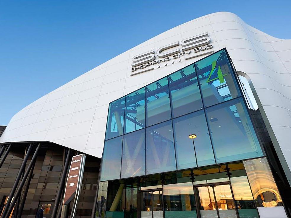 """Die Shopping City Süd führt im Ranking der """"Shoppingcenter Performance""""."""