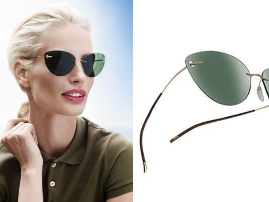 Eines der neuen Sonnenbrillen-Trend-Modelle: Icon von Silhouette