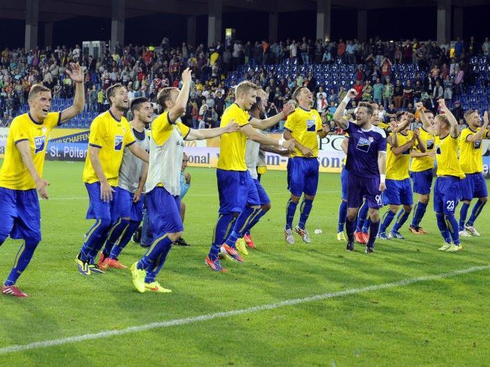 Sieg für den SKN St. Pölten am Dienstag.