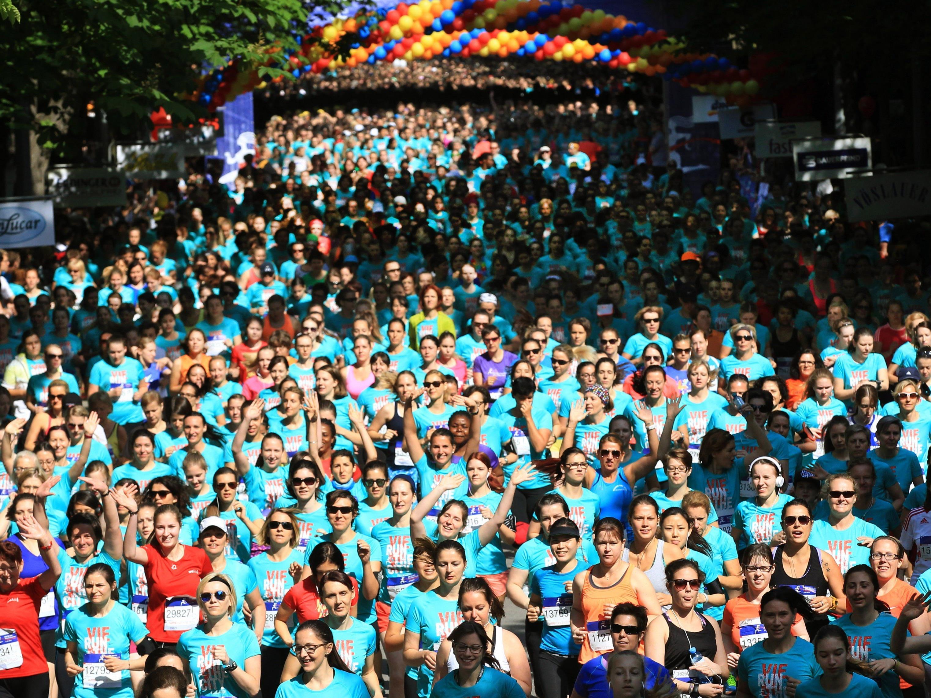 Der Österreichische Frauenlauf 2016 findet am 22. Mai statt.