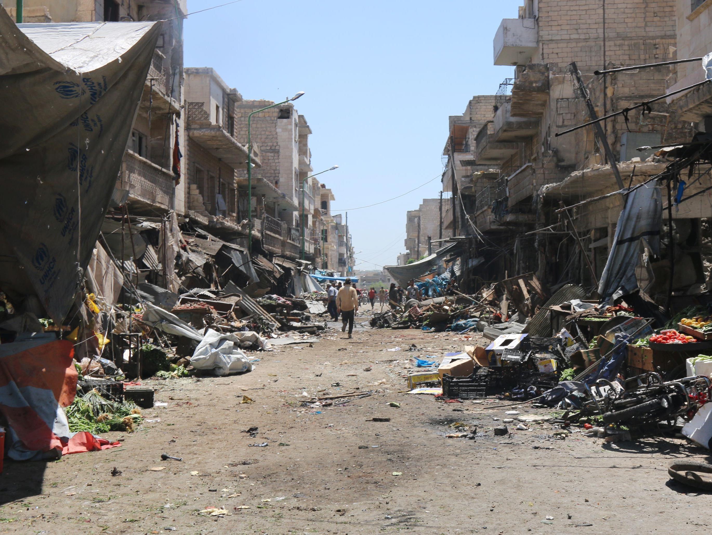 Aktivisten: Assad-Luftwaffe attackierte mehrere Marktplätze - Zivilisten getötet