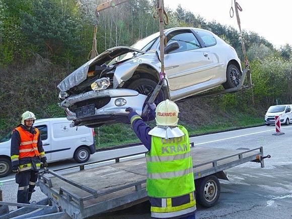 Einsatz beim Unfall auf der A2