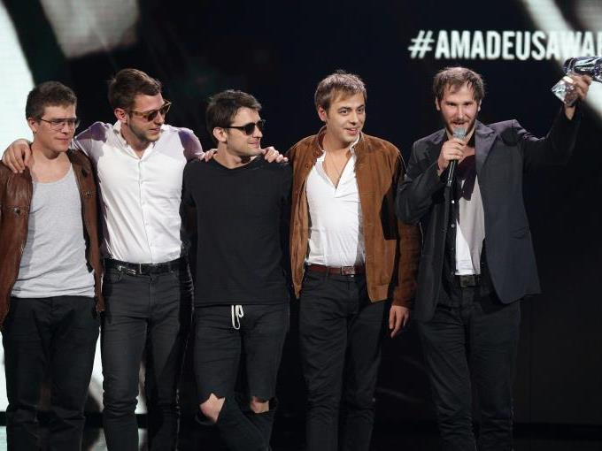 Erneut räumten Wanda mehrere Amadeus Awards ab.