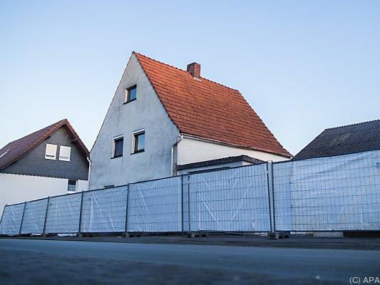 Sichtschutzwände vor dem Haus in Höxter