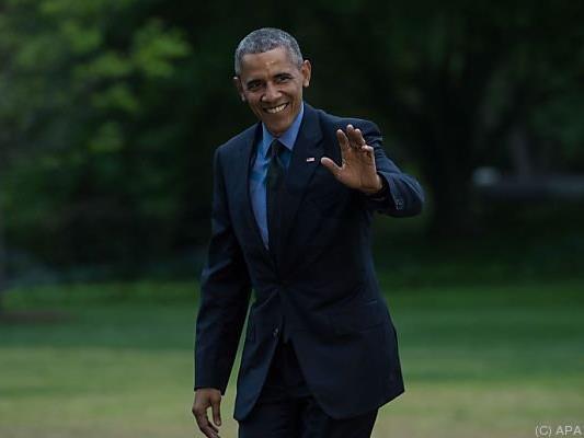 Obamas Besuch ist für Ende Mai angesetzt