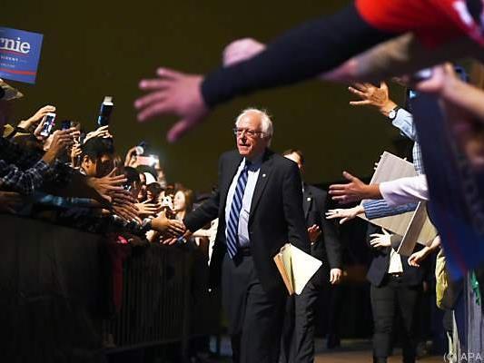 Ein Achtungserfolg für Sanders, mehr nicht