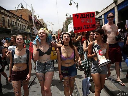 Israelische Aktivistinnen wehren sich