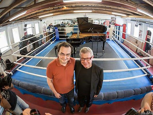 Klassik im Ring: Libeskind mit Pianist Aimard im Boxcamp Gallus