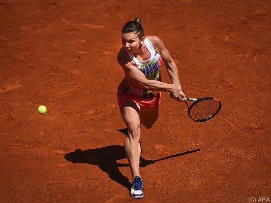 Simona Halep steht im Viertelfinale