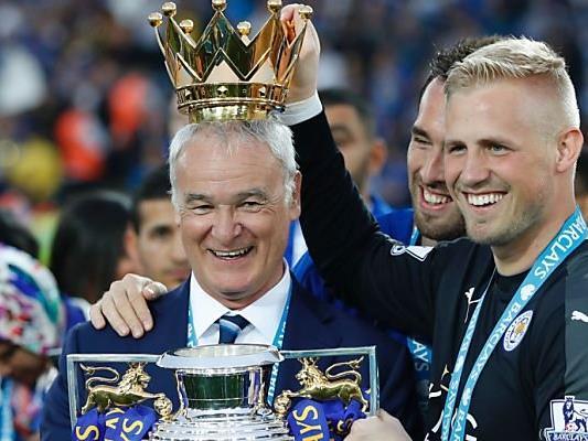 Krone für Coach Claudio Ranieri