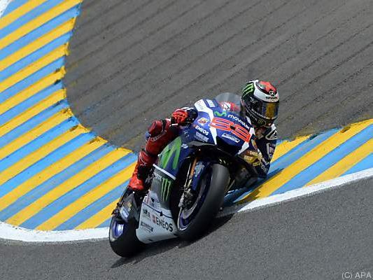 Lorenzo war in Frankreich der Schnellste