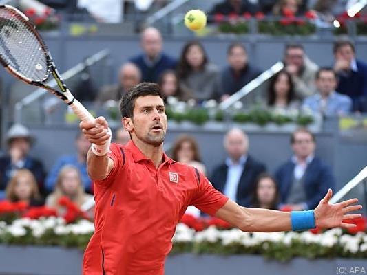 Djokovic mit einer tollen Saison bisher