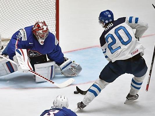 Finnland besiegte Frankreich mit 3:1