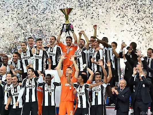 Juventus Turin feiert den 32. Meistertitel