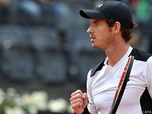Andy Murray nach seinem Halbfinalsieg