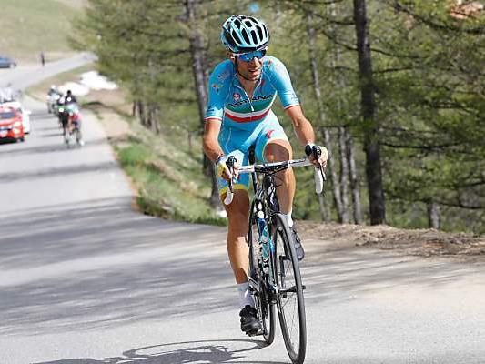 Vincenzo Nibali bei der 20. Etappe über den Colle della Lombarda