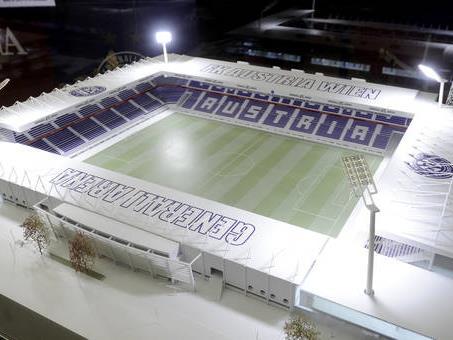 1,5 Mio. Euro fürs neue Austria-Stadion gesammelt.