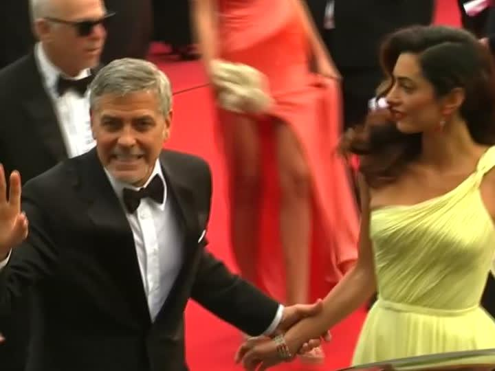 Clooney in Cannes.