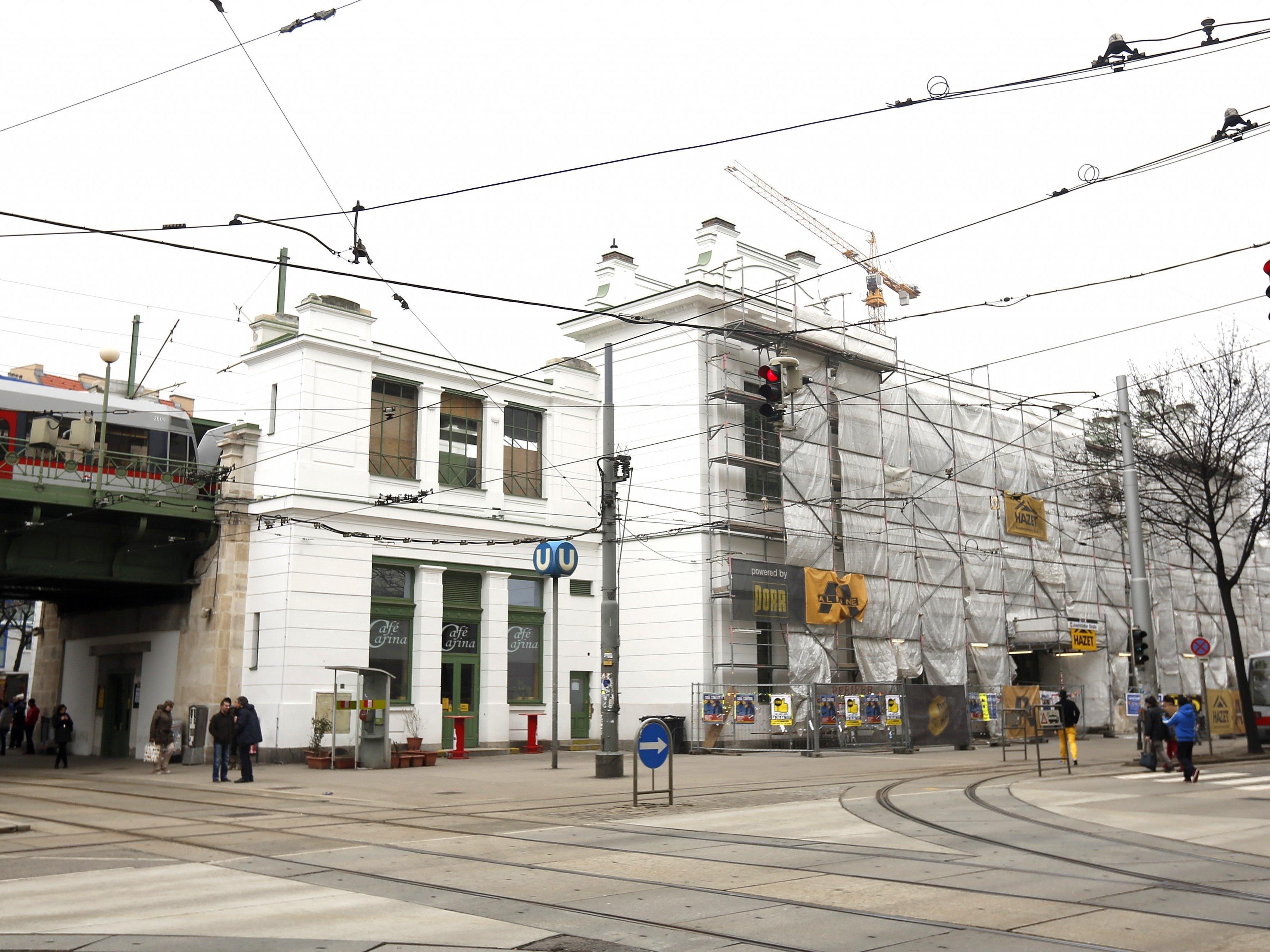 25 Personen gerieten bei der U6-Station Josefstädter Straße in Streit.