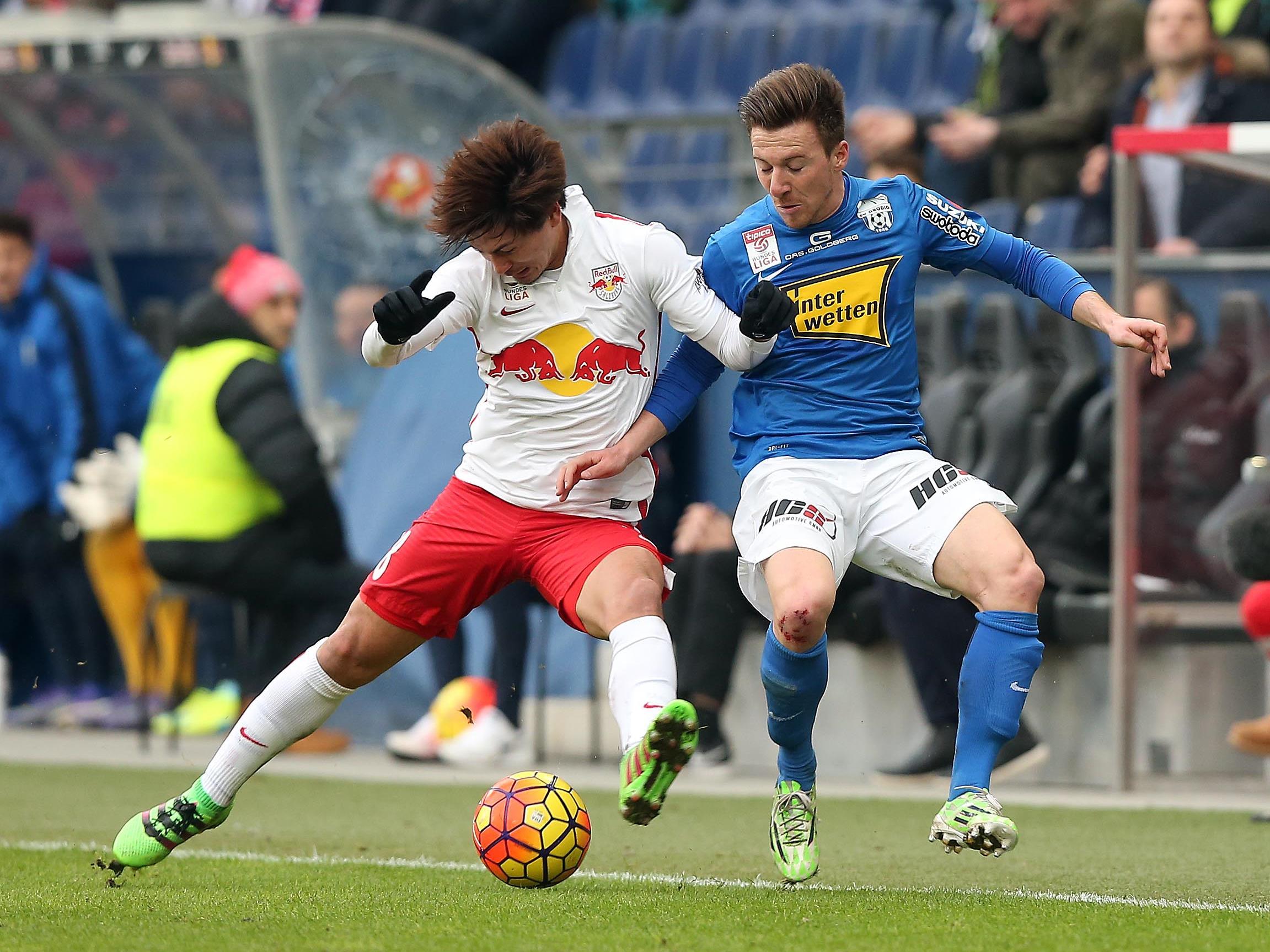 LIVE-Ticker zum Spiel SV Grödig gegen Red Bull Salzburg ab 20.30 Uhr.