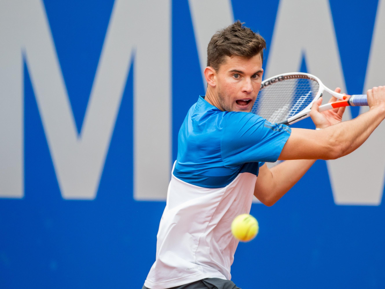 Dominic Thiem muss nun gegen Roger Federer spielen.