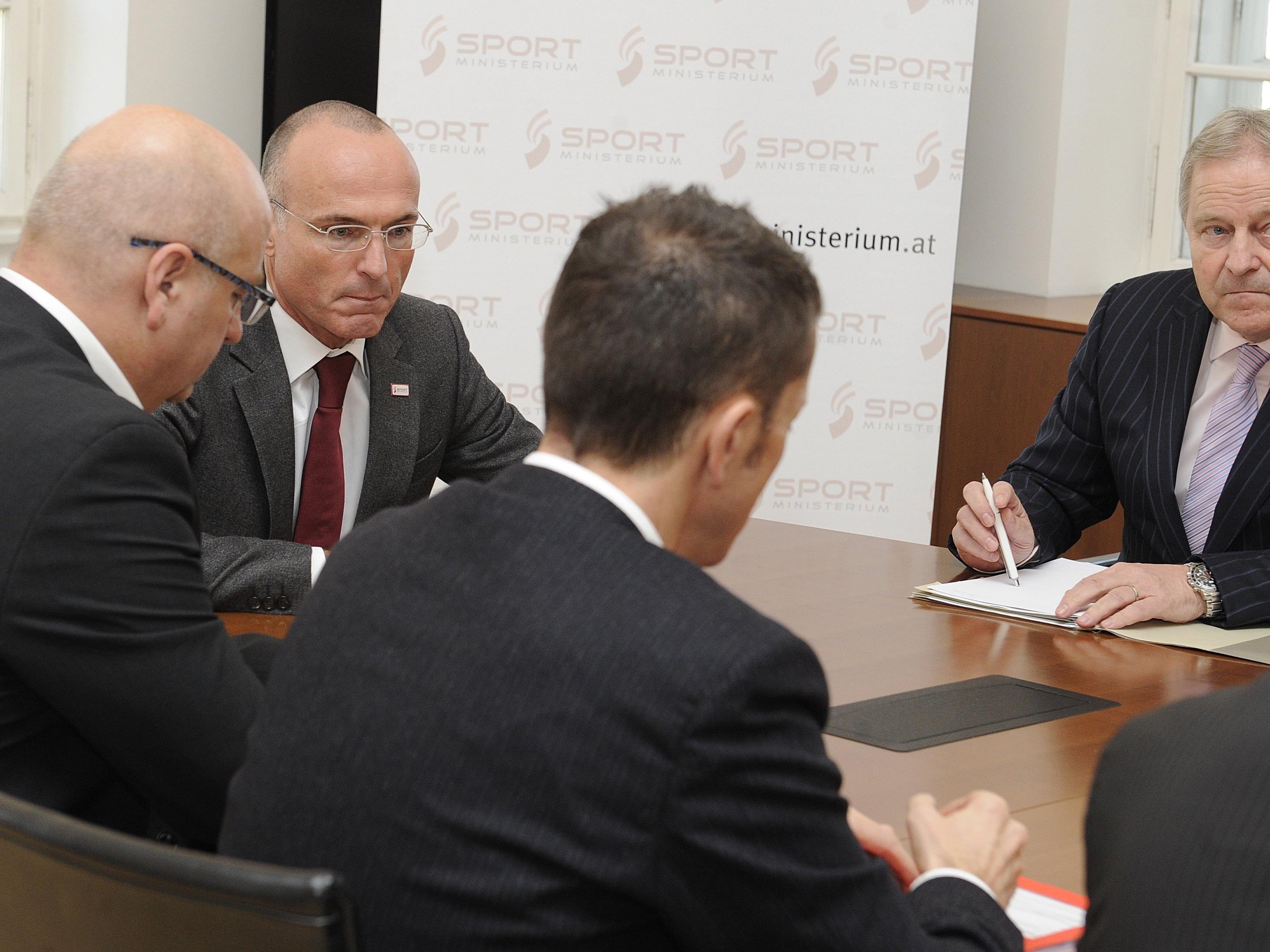 Das Thema Sicherheit bei der EURO wird beim ÖFB groß geschrieben.