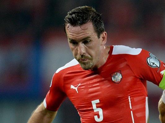 Christian Fuchs testet mit dem Nationalteam gegen Malta.
