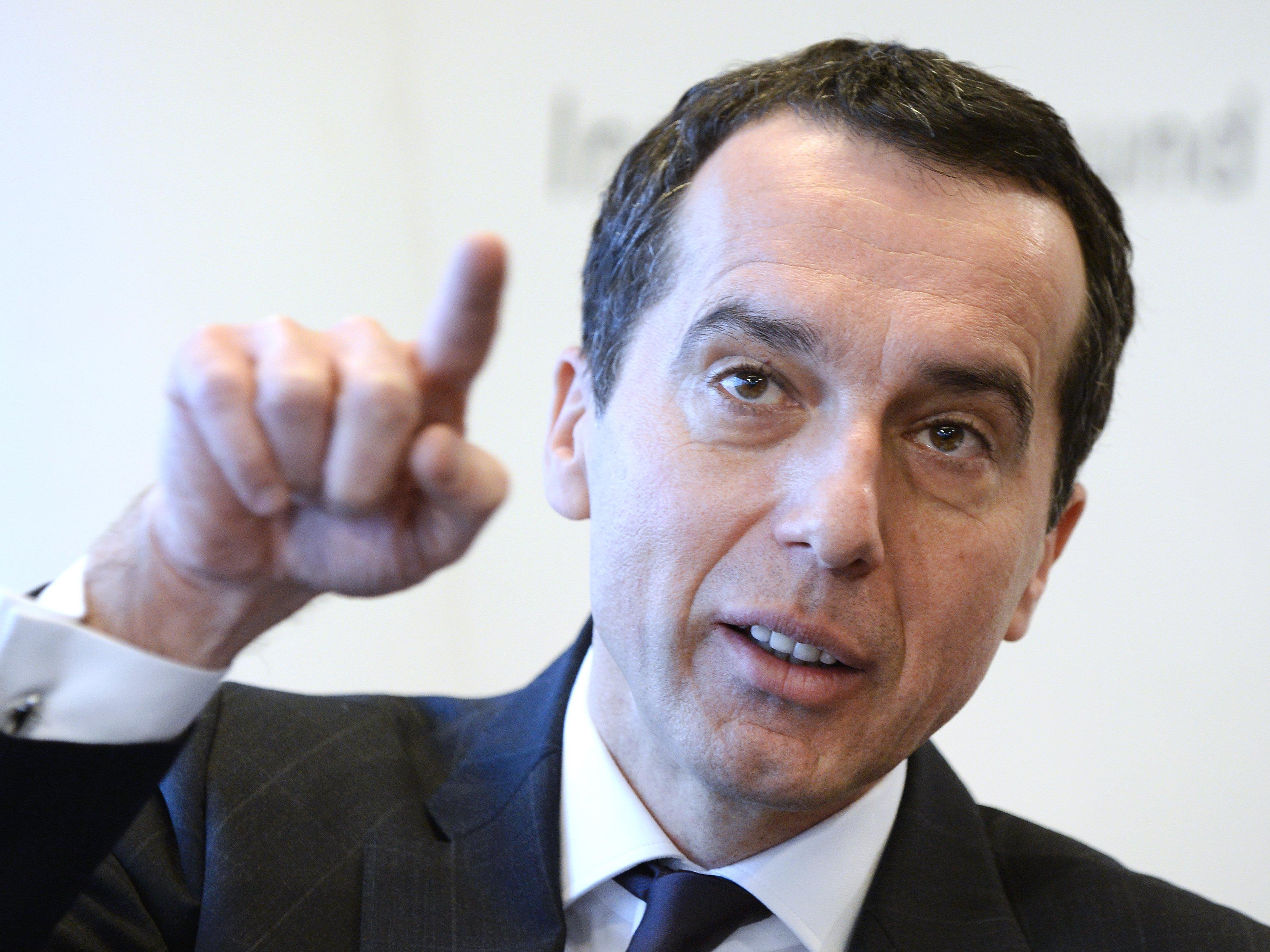 ÖBB-Chef Christian Kern steht bei der SPÖ in der Pole Position.