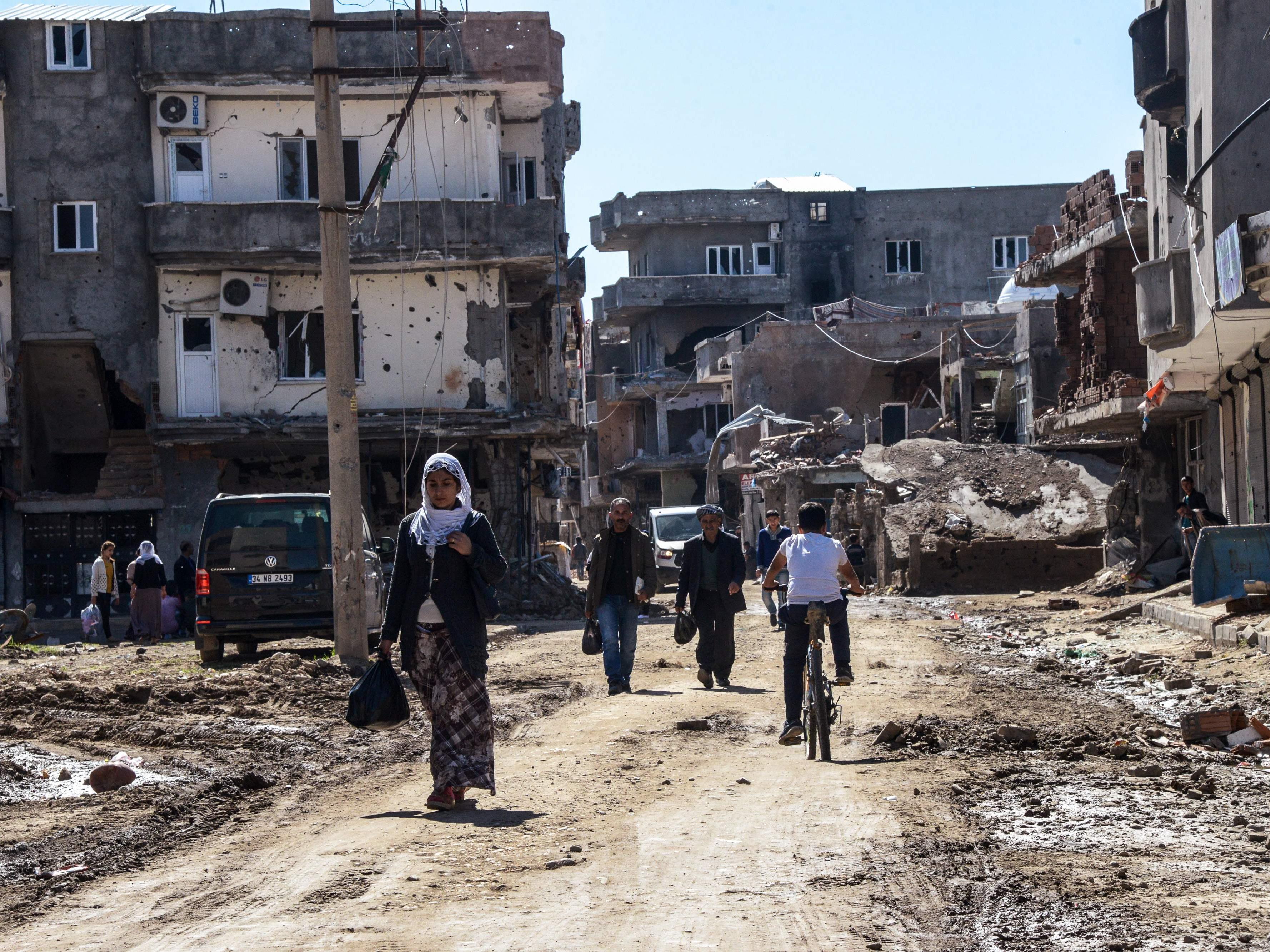 Vereinte Nationen fordern Untersuchung zu massiver Gewalt in Kurden-Region.