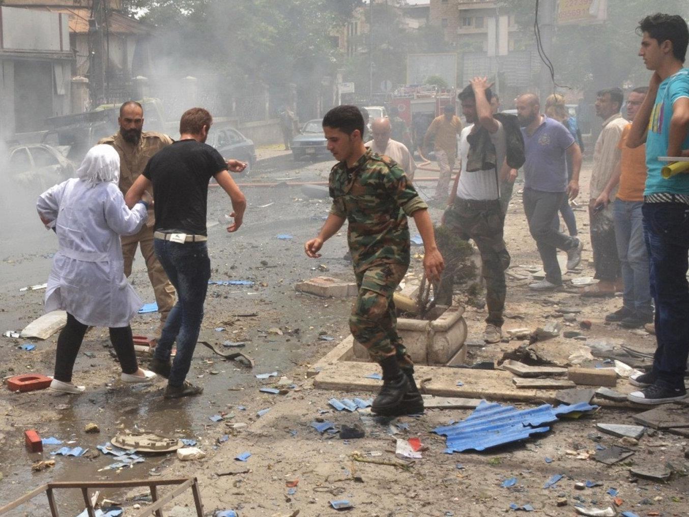 Aleppo ist immer wieder Ziel von Angriffen.