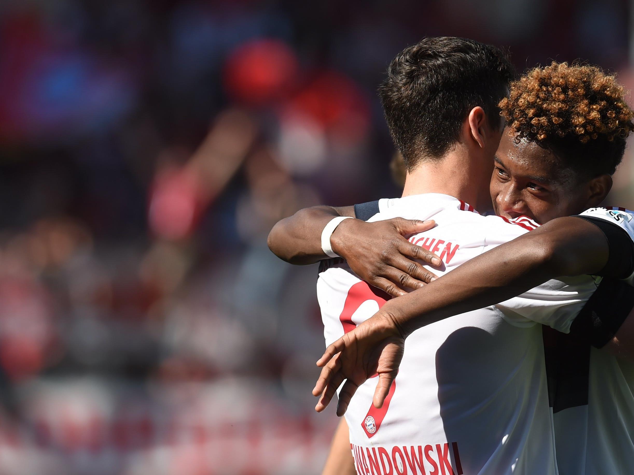 Zum vierten Mal in Folge holt sich Bayern München den Titel.