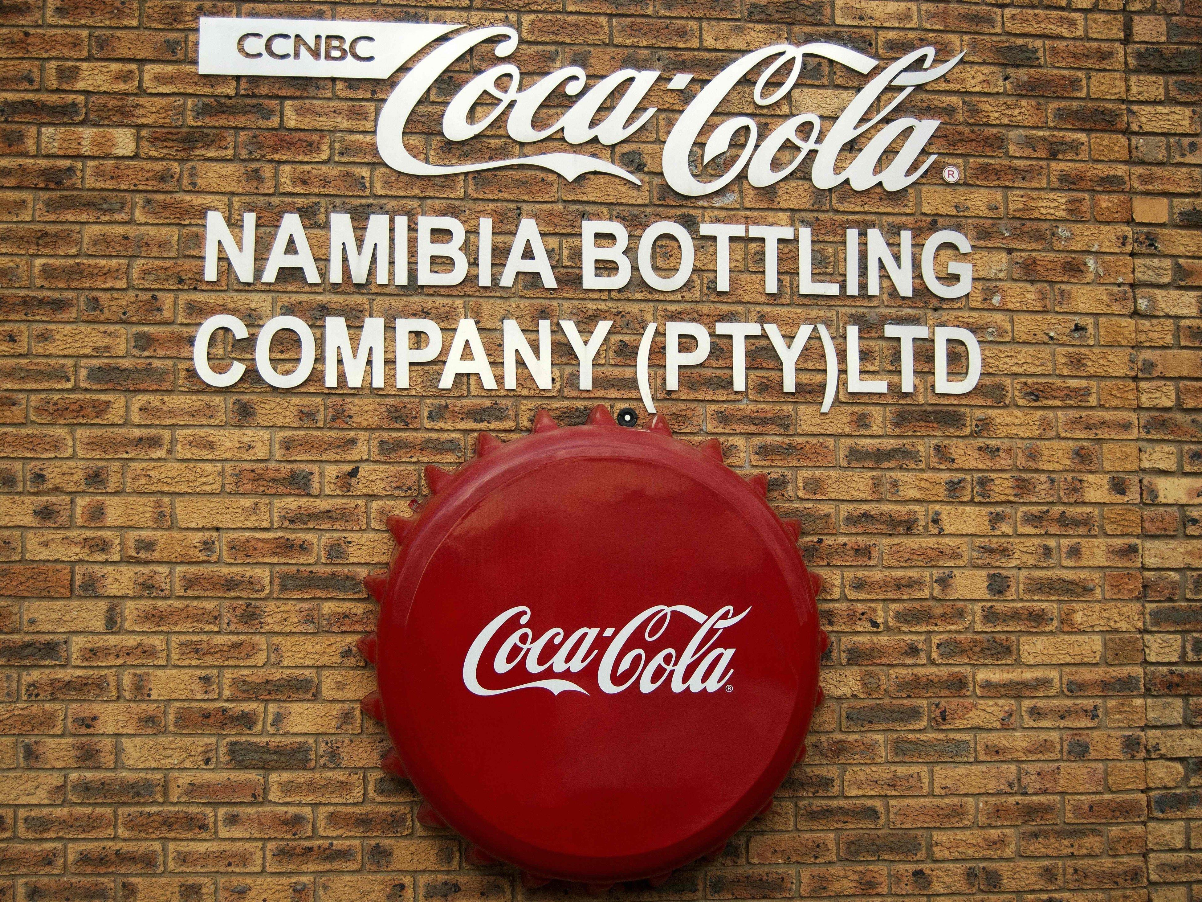 Die Coca-Cola-Produktion in Namibia wurde vorübergehend gestoppt.