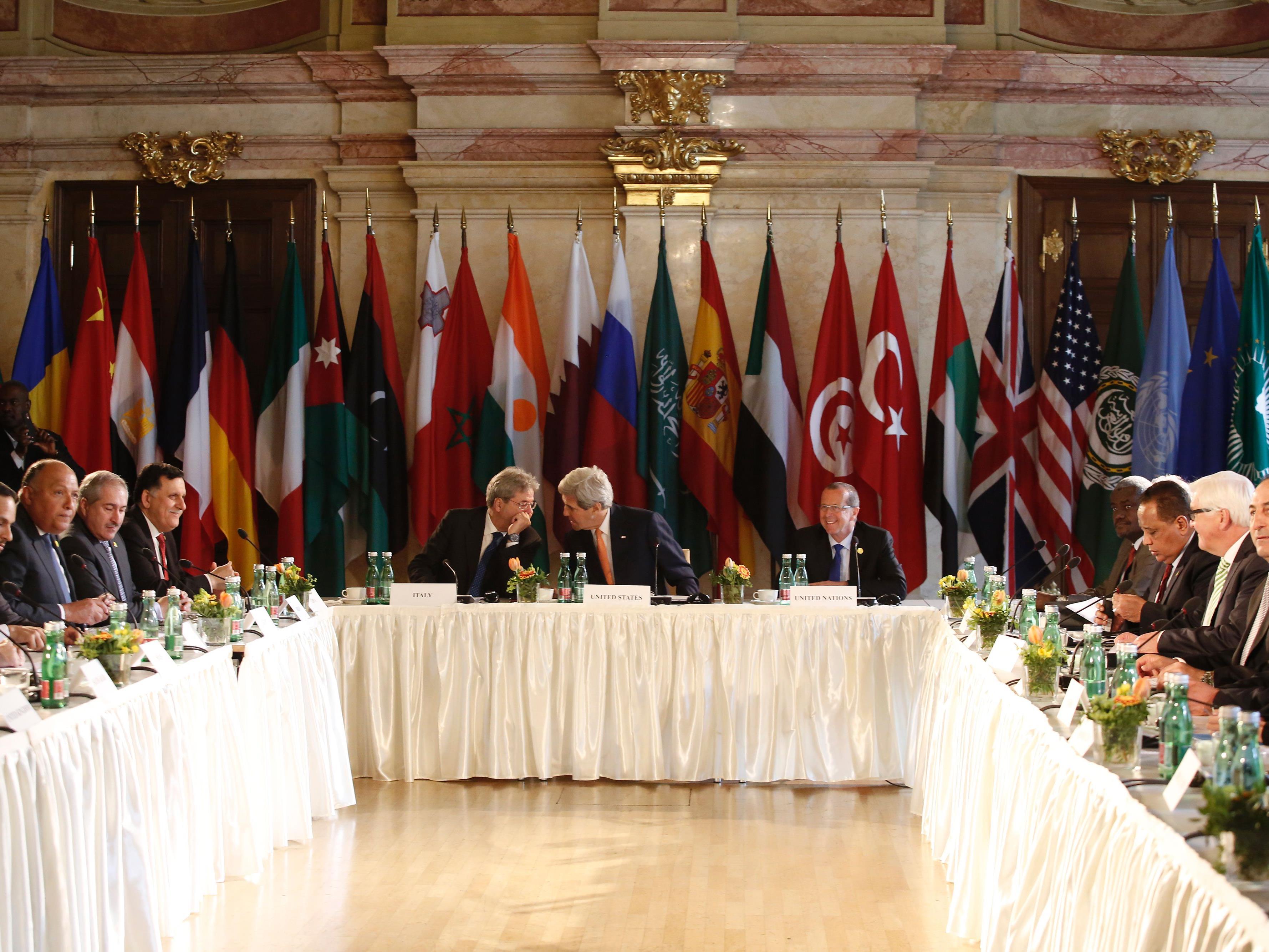 Syrien-Gespräche finden am Montag wieder in Wien statt.