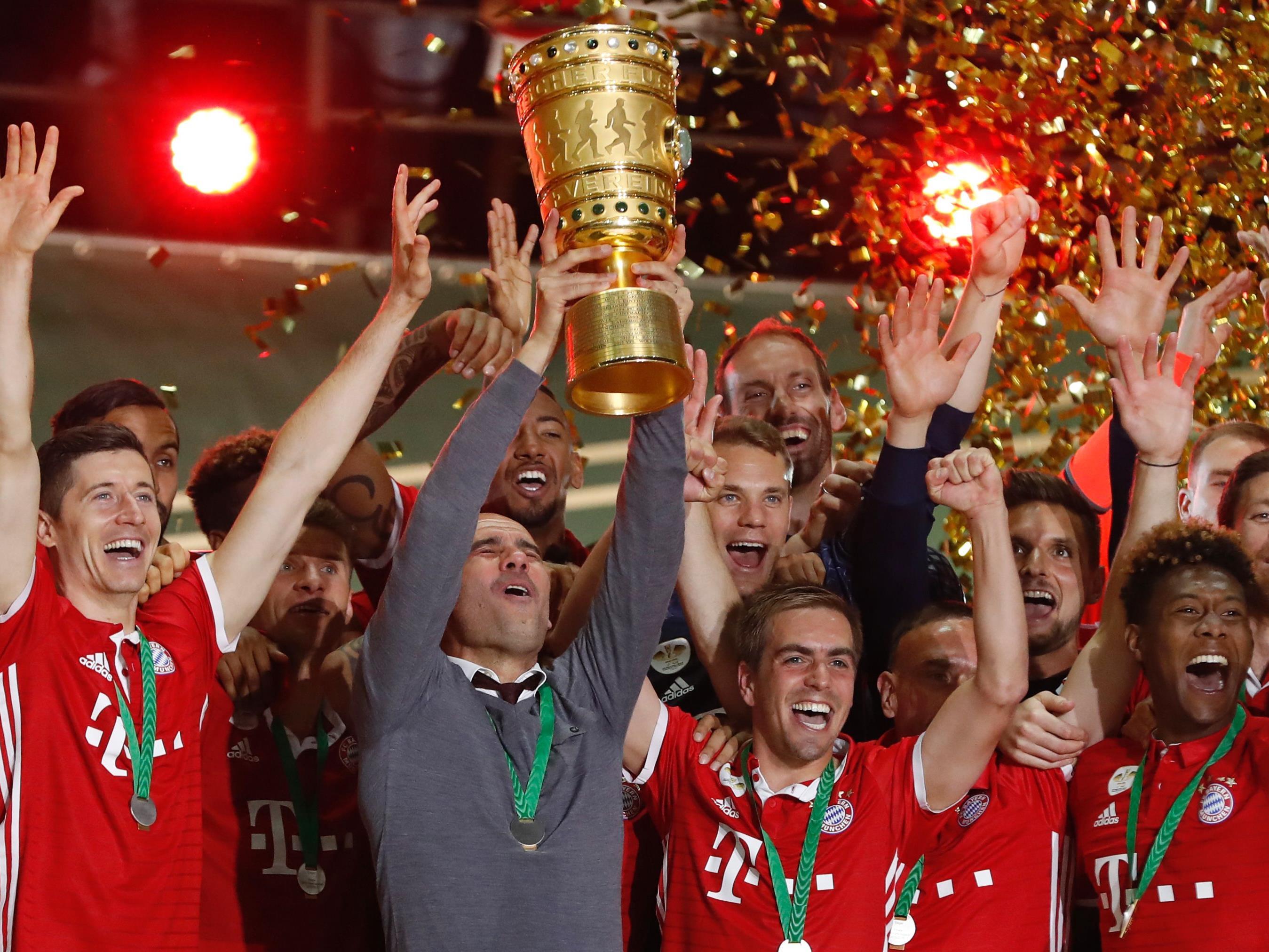 Bayern München darf sich ein weiteres Mal über den Cup-Sieg freuen.