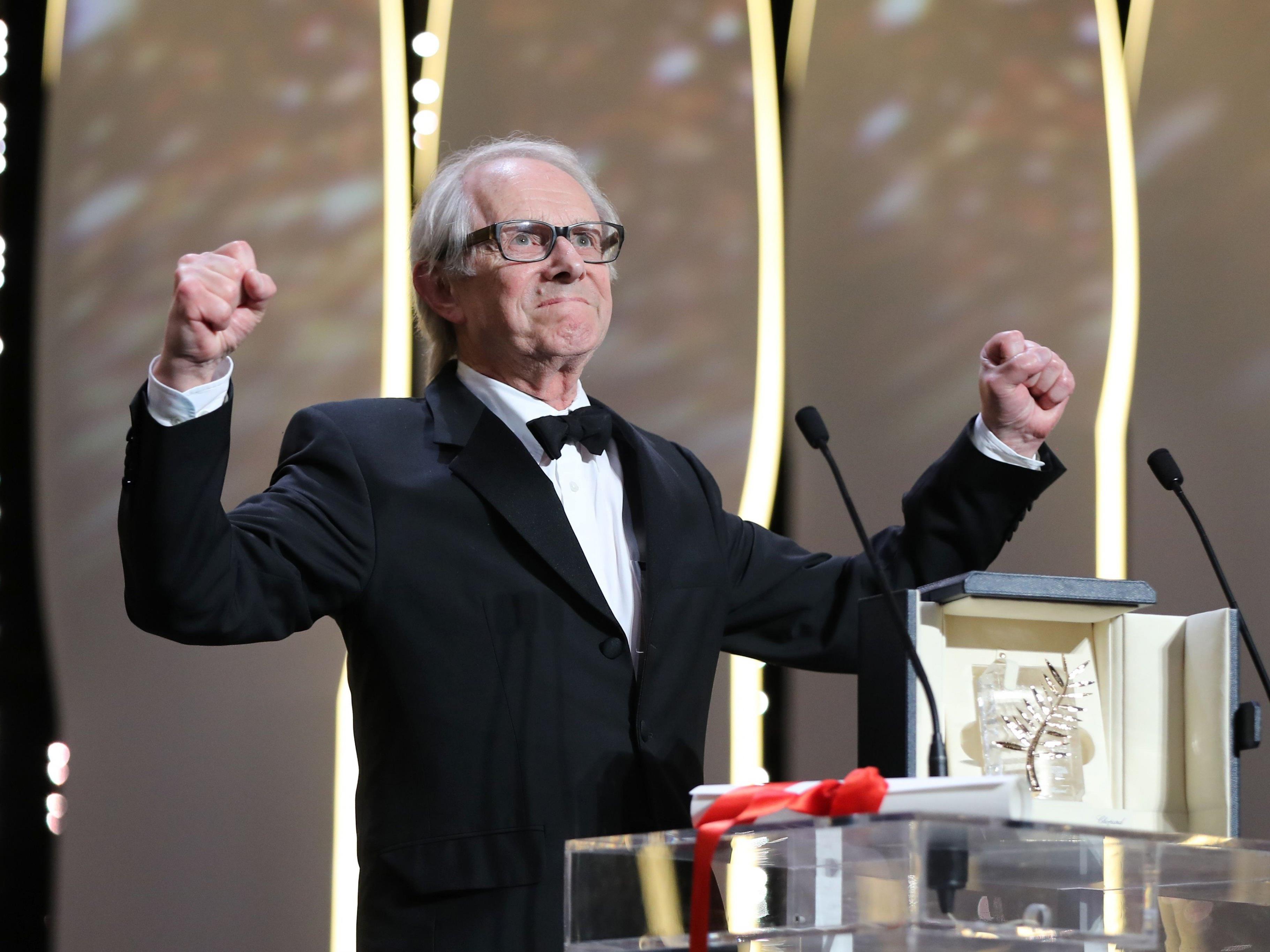 Ken Loach gewinnt die goldene Palme in Cannes.