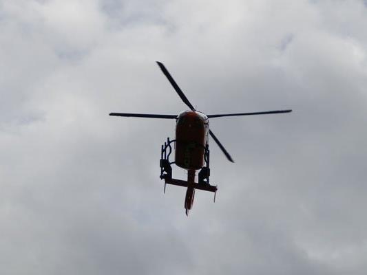 Die Bergrettung leitete drei Wanderer in Niederösterreich in Sicherheit