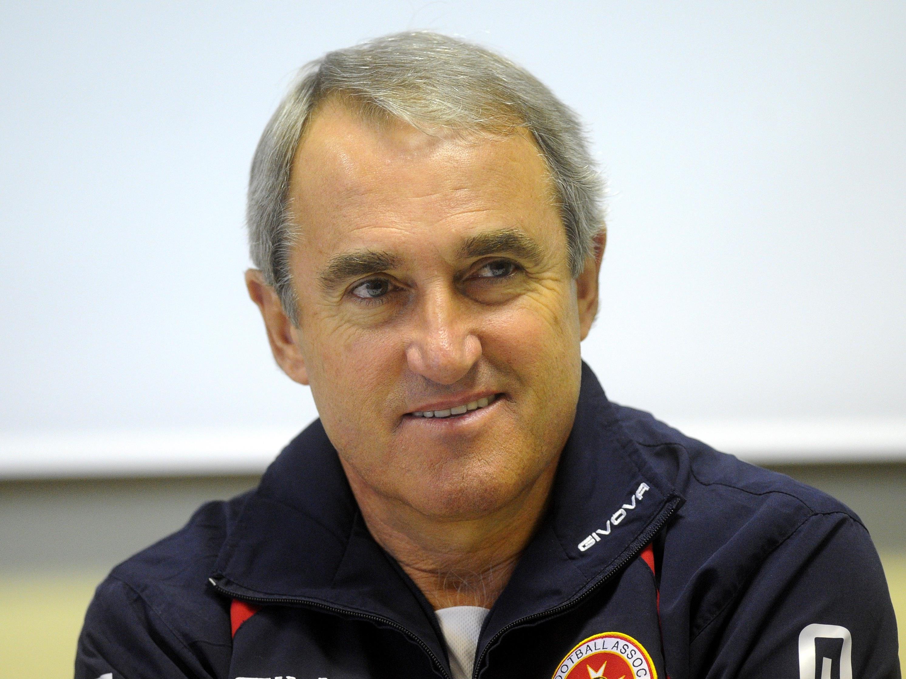 Malta-Trainer Pietro Ghedin.