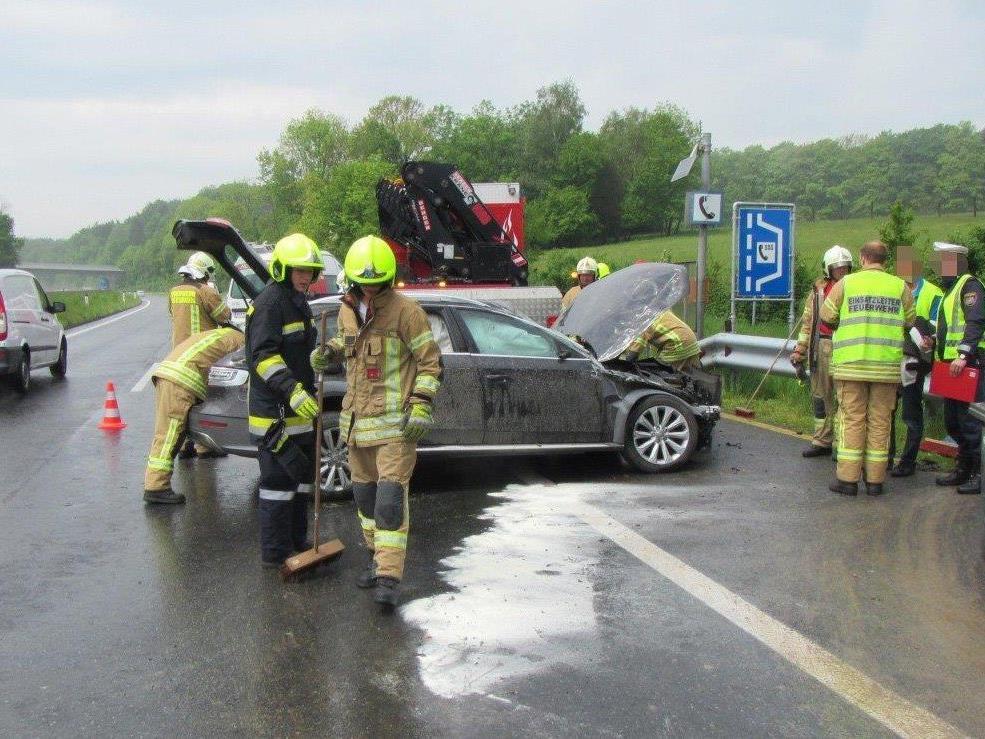 Am Montag ereignete sich auf der A1 ein schwerer Unfall.